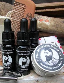 Audacious Beard Wash And Grooming Set
