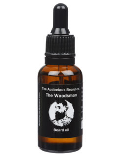 The Audacious Beard Co The Woodsman Beard Oil