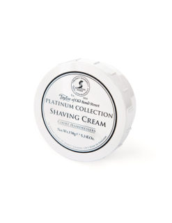 Taylor of Old Bond Street Platinum Collection Shaving Cream 150g 01000