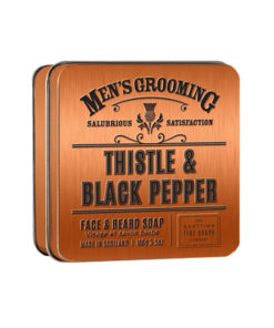 The Scottish Fine Soaps Thistle and Black Pepper Face and Beard Soap