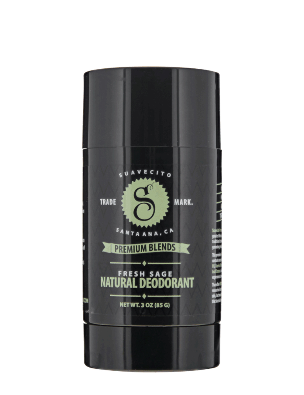Suavecito Premium Blends Fresh Sage Natural Deodorant